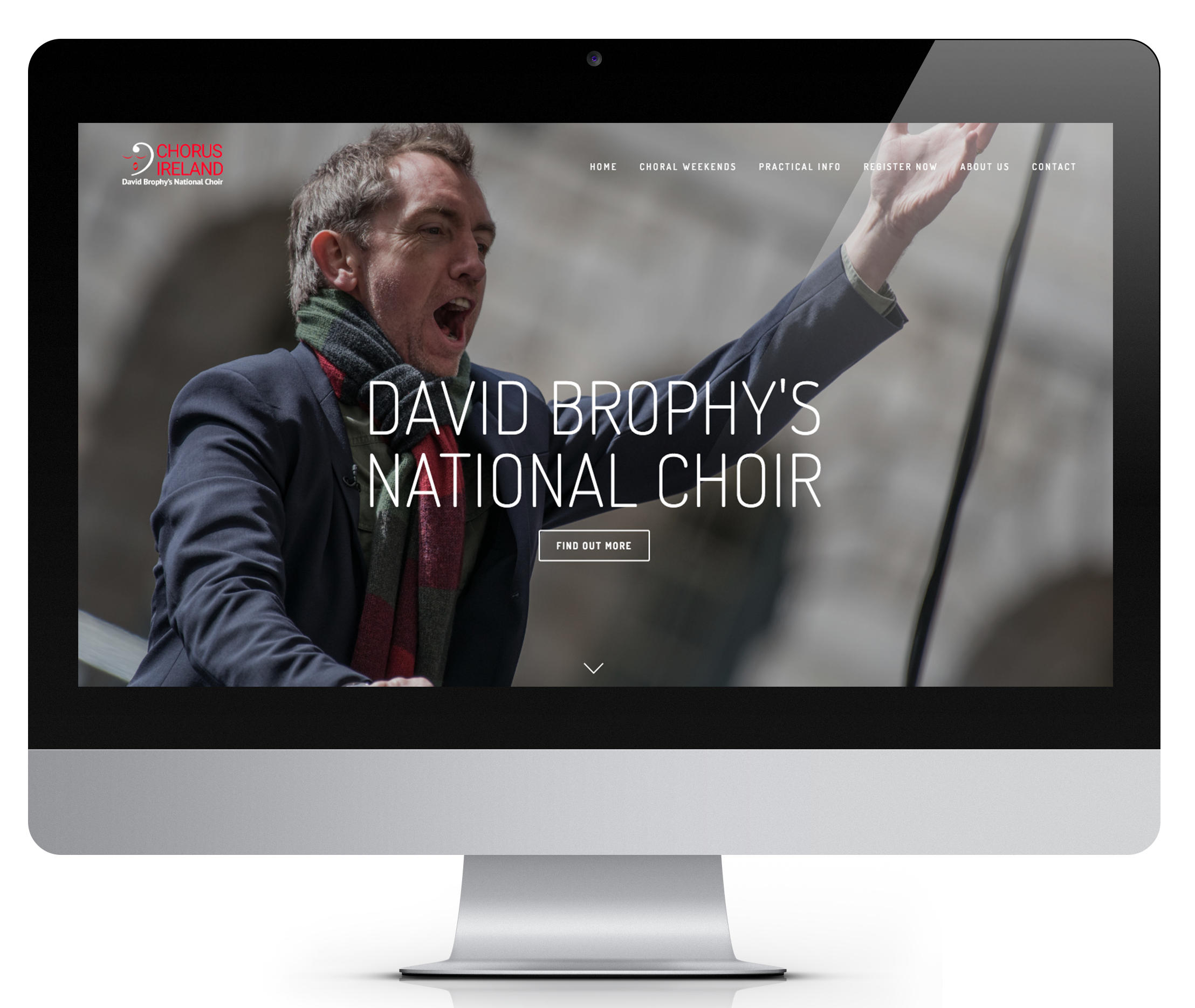 I set up Chorus Ireland in 2015 with David Brophy as a project to bring choral singers together for a weekend of sublime music making.