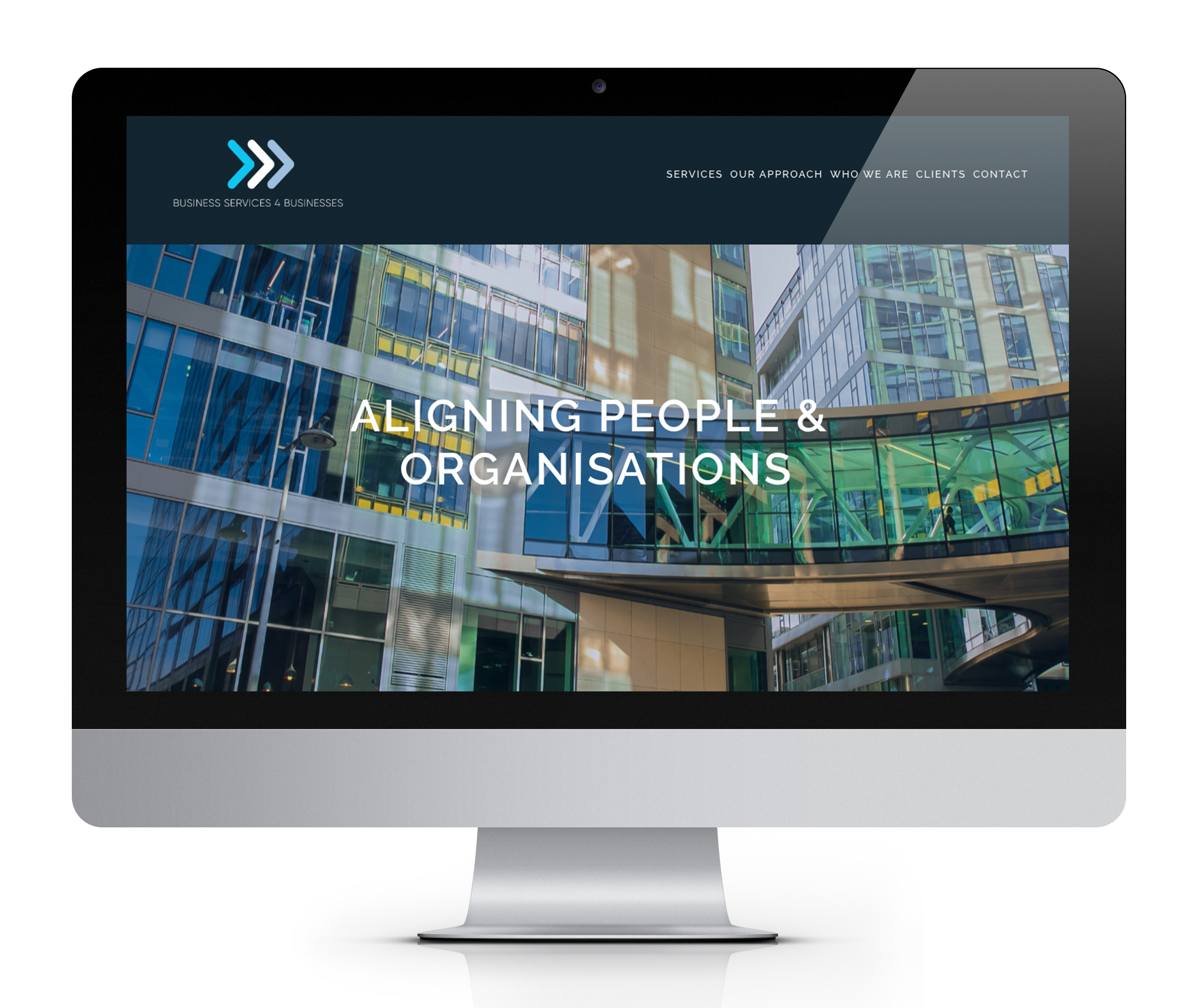 Business Services 4 Businesses is a small consulting firm of three of Ireland's leading business consultants. They wanted a professional-looking site that clearly presented their services, clients and contact details.