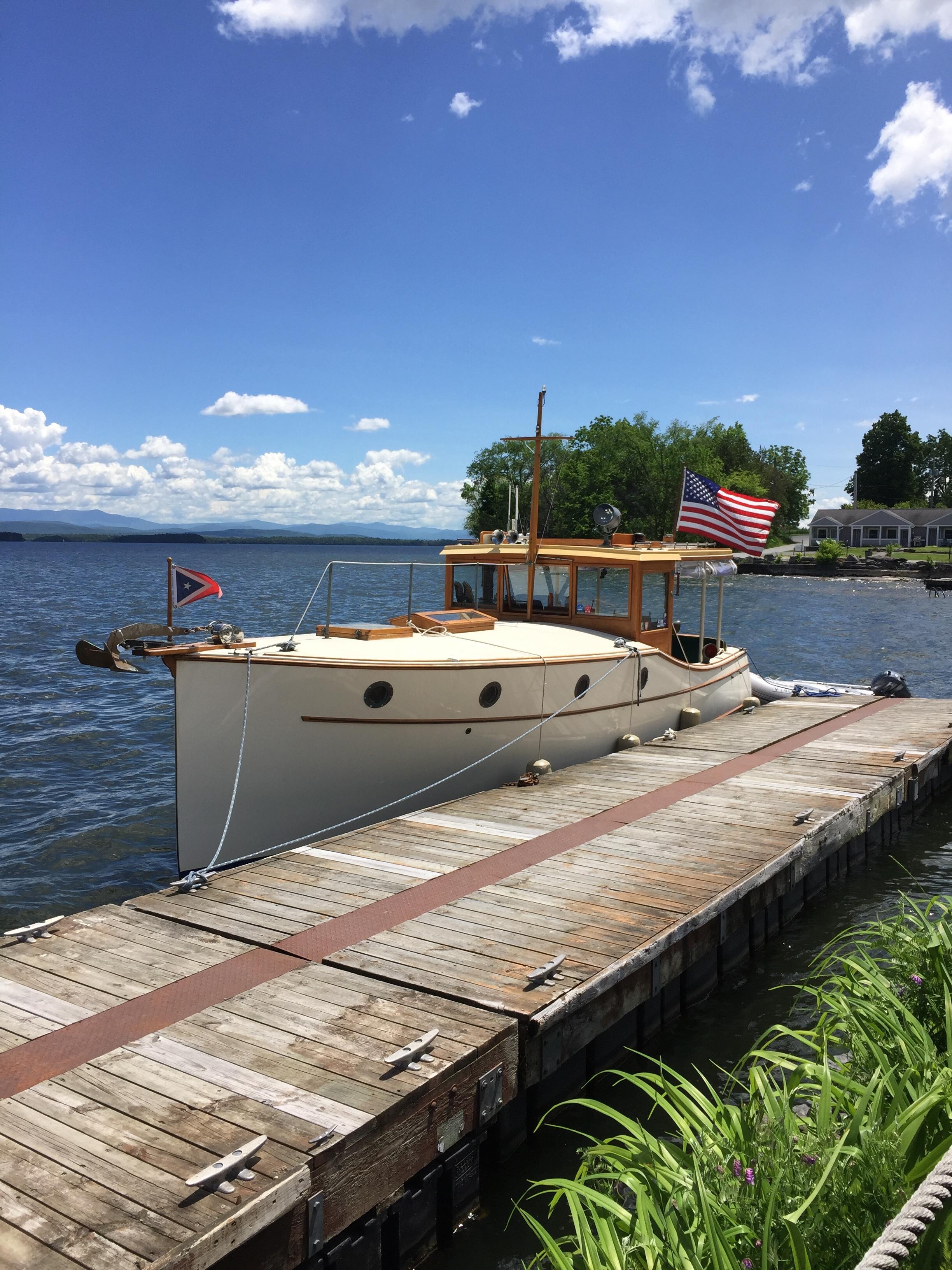 Bob Schumacher's Tranquility, a  1986 30' Express Yacht Scout