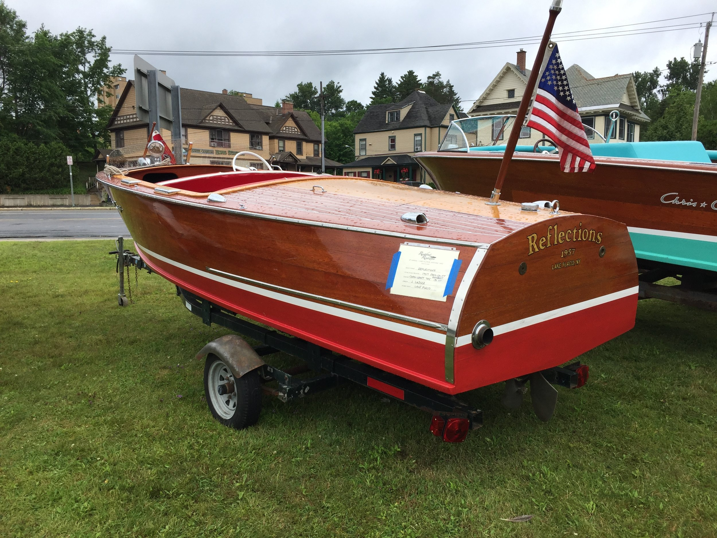 "1957 Chris Craft Runabout "" Reflections"""