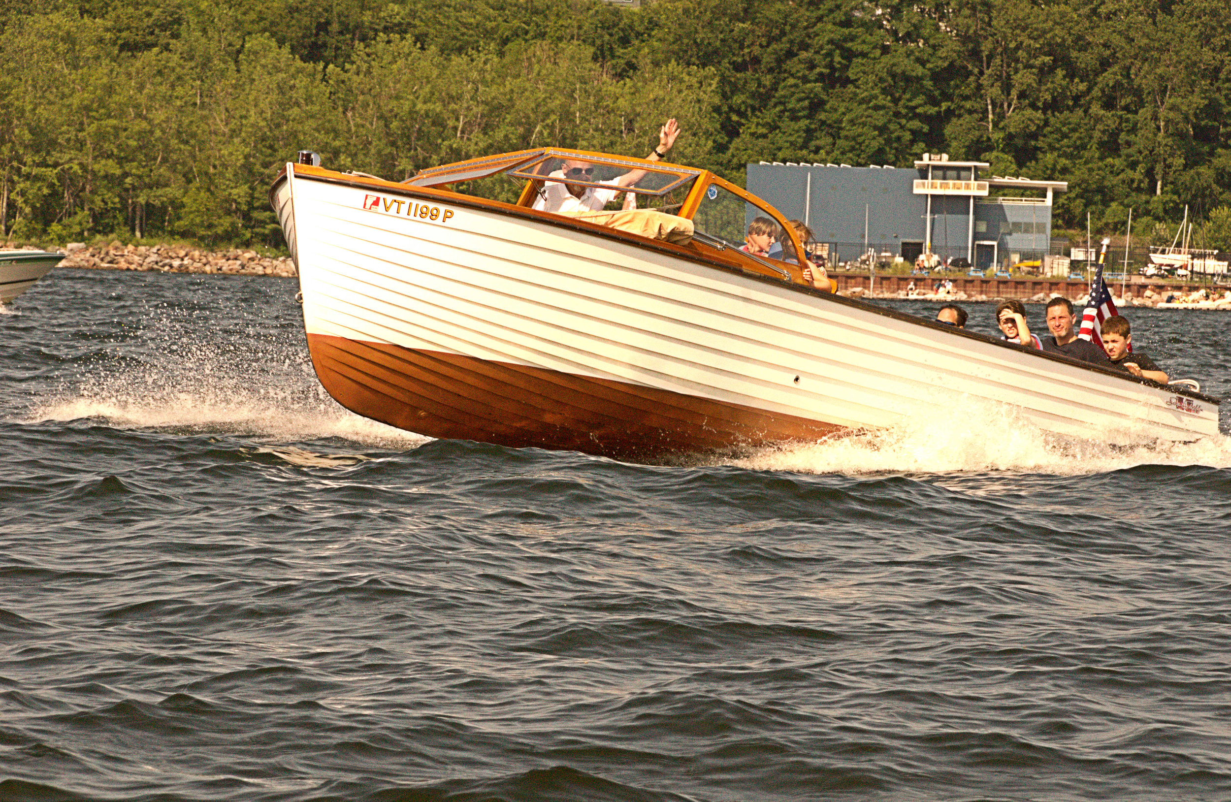 Utility - Lucy, 26' 1956 Chris Craft Sea Skiff, Classic Lapstrake Utility, owned by Ashley Sullivan