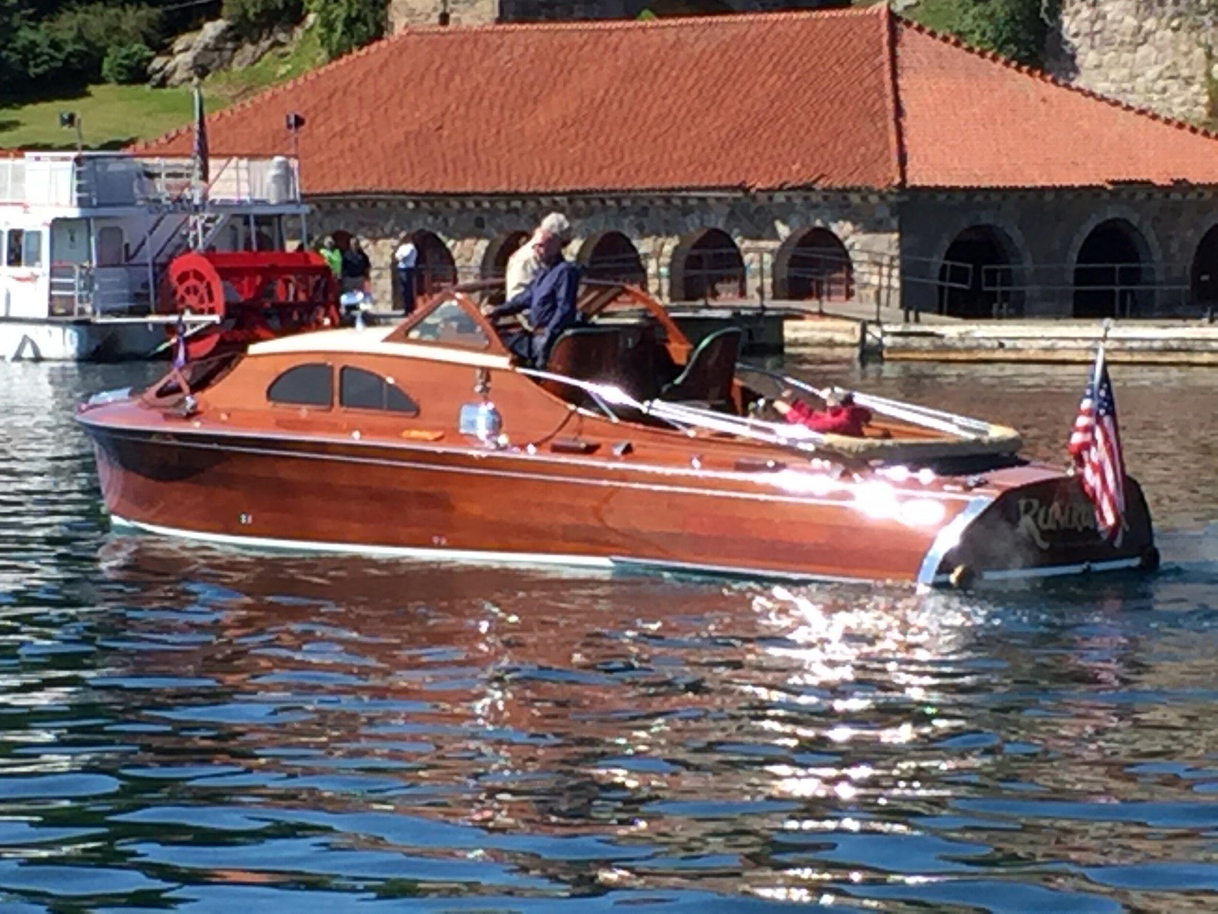 Rum Runner at Singer Castle Boat House