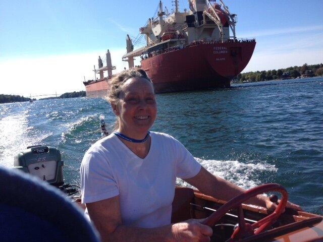 Wednesday's return trip to Alex Bay