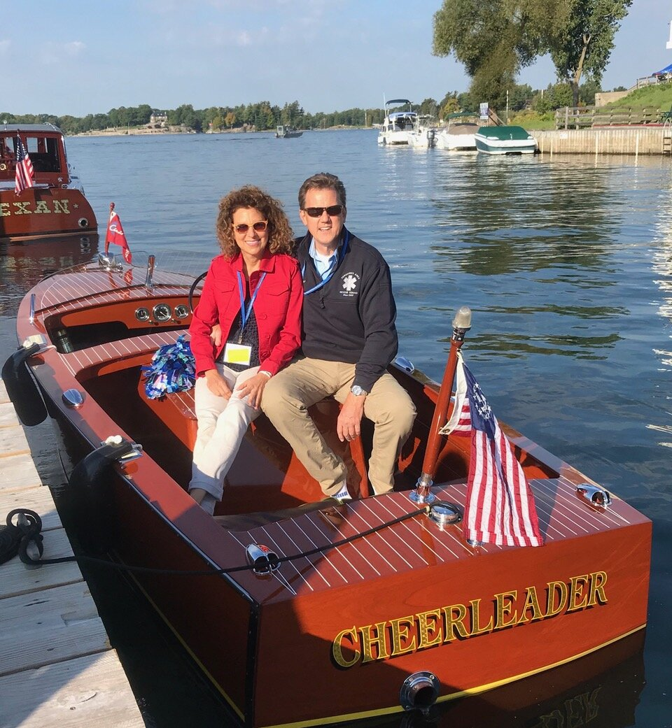 """""""Cheerleader"""", won Silver in Classic Utility Restored, owned by LCACBS members, Holly and John Weber."""