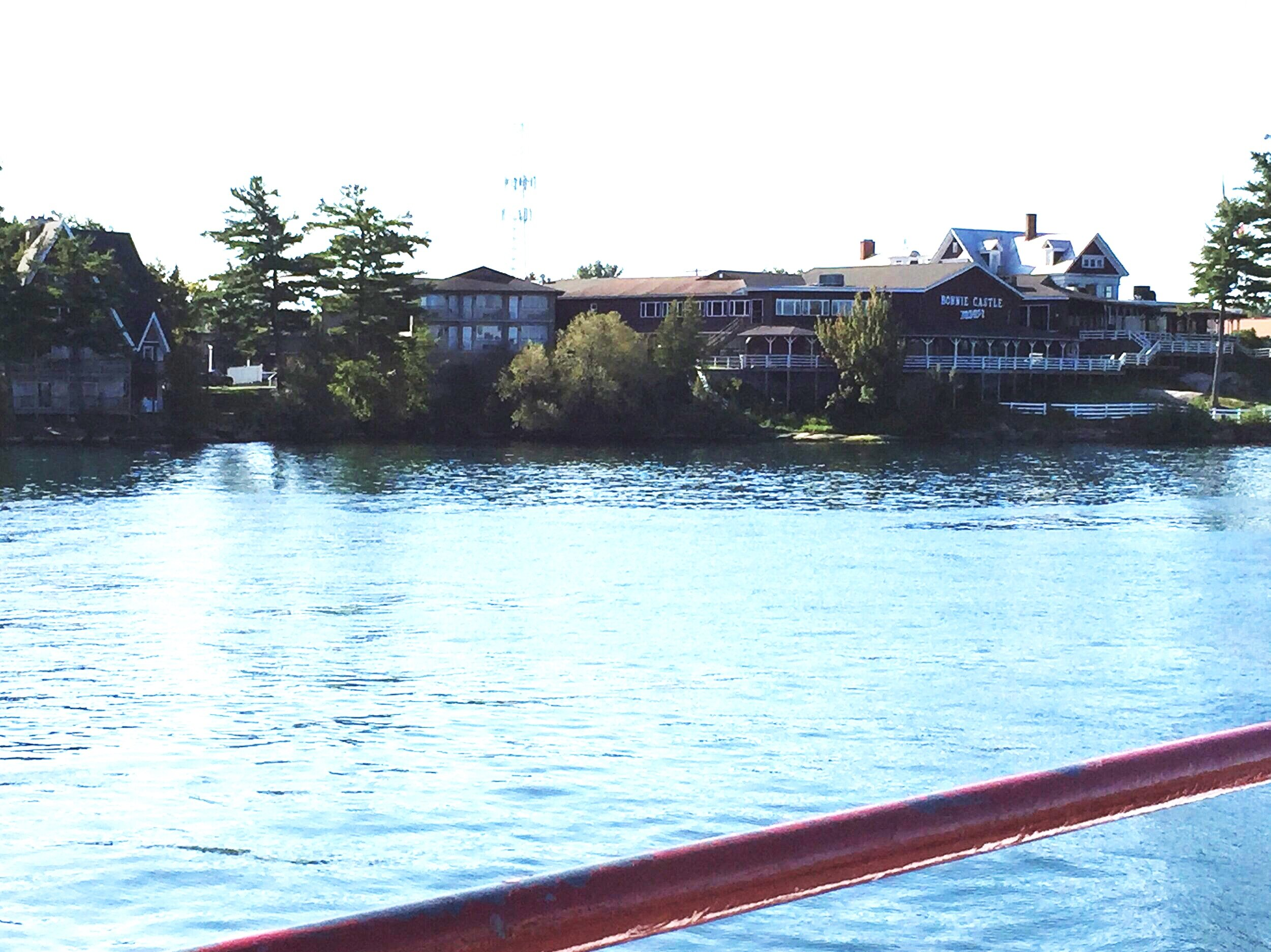 Bonnie Castle resort from the water