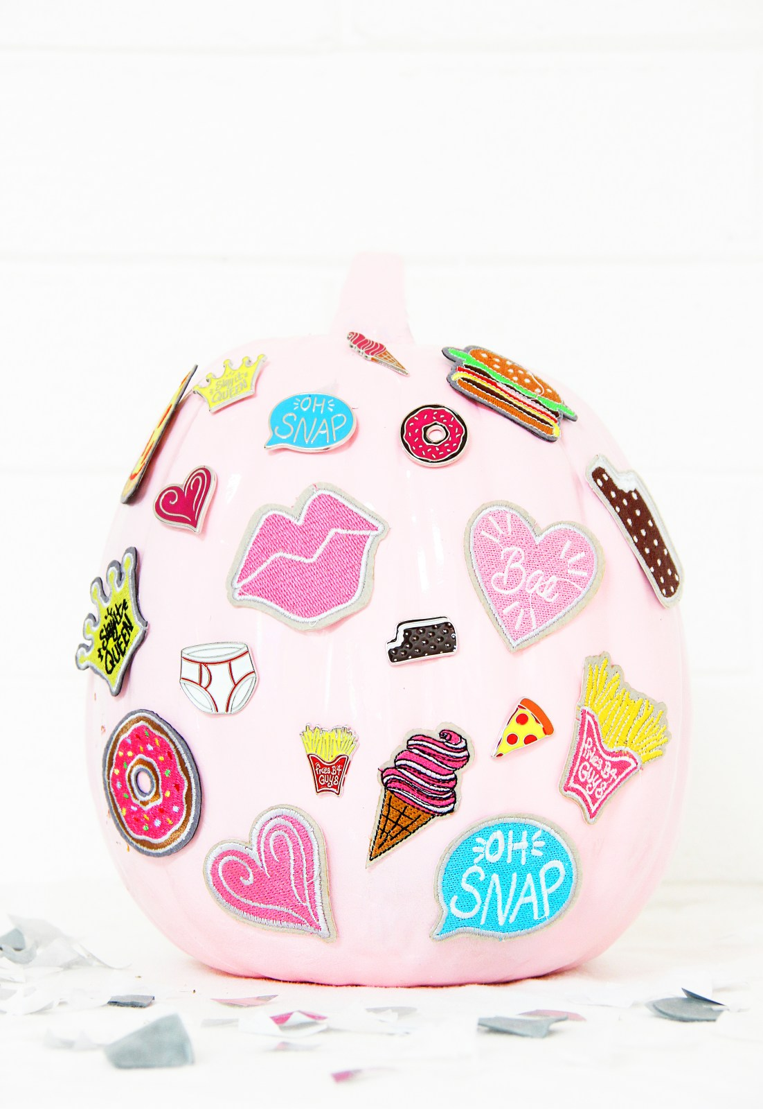 Pink Patch Pumpkin form  @bubllylife