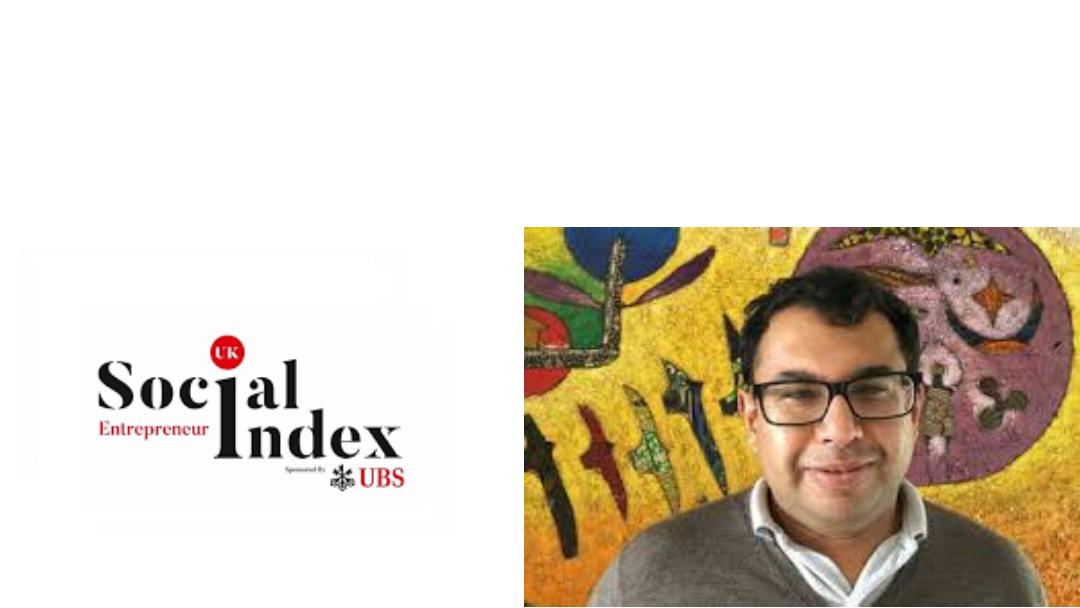Sharath Jeevan (STIR Education) among top 10 in 2019 UK Social Entrepreneur Index