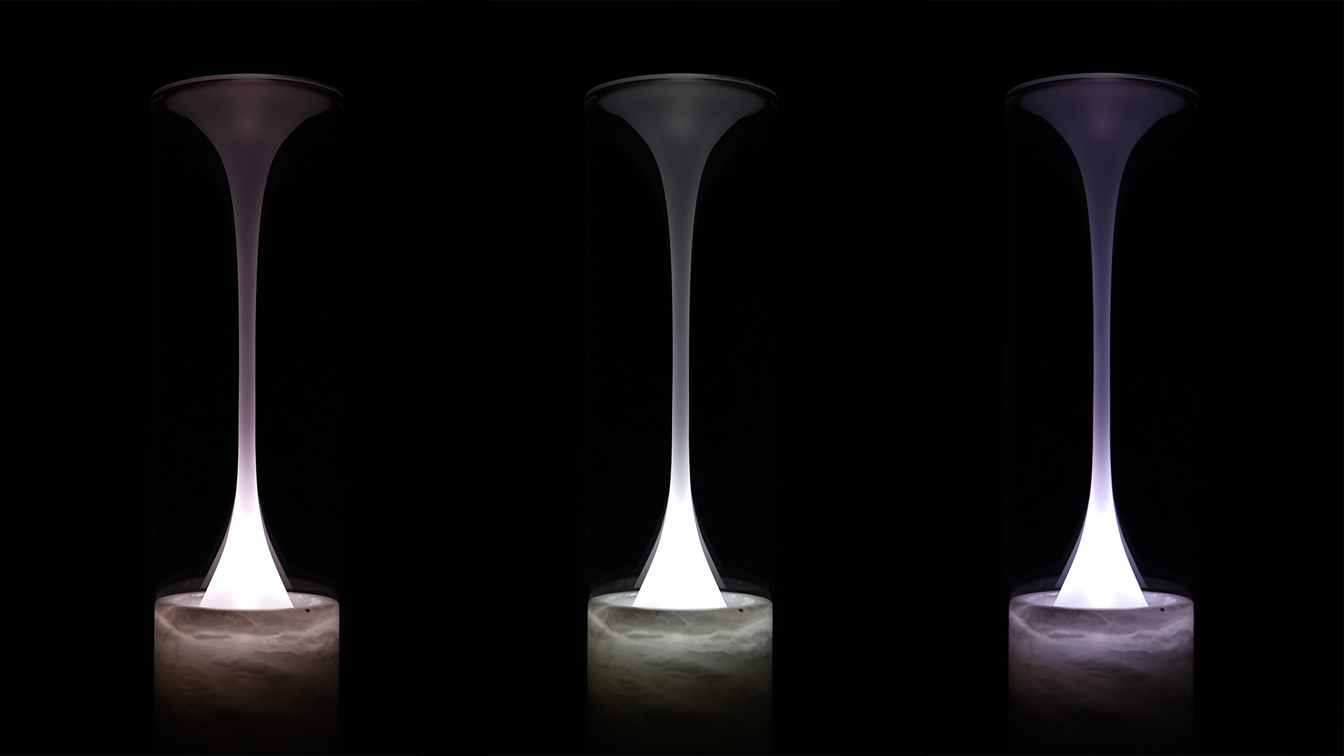 Polar Light by BRINK - three lamps together