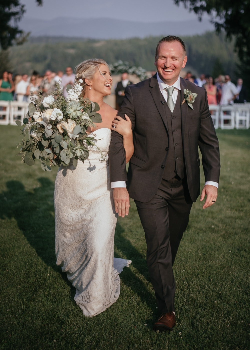 Sandpoint Idaho wedding