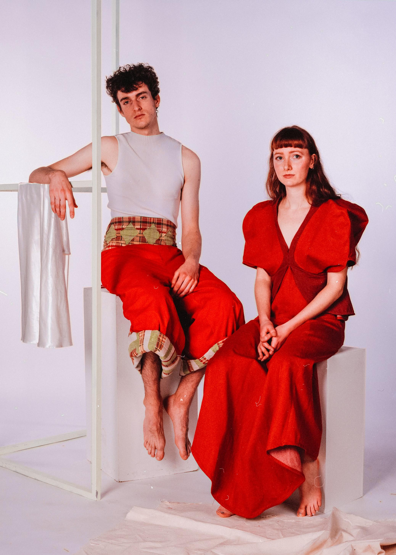 Models: Daniel Turner & Ella Porter  Daniel wears trousers by Georgie Carey  Ella wears dress by Rosie Lindsley