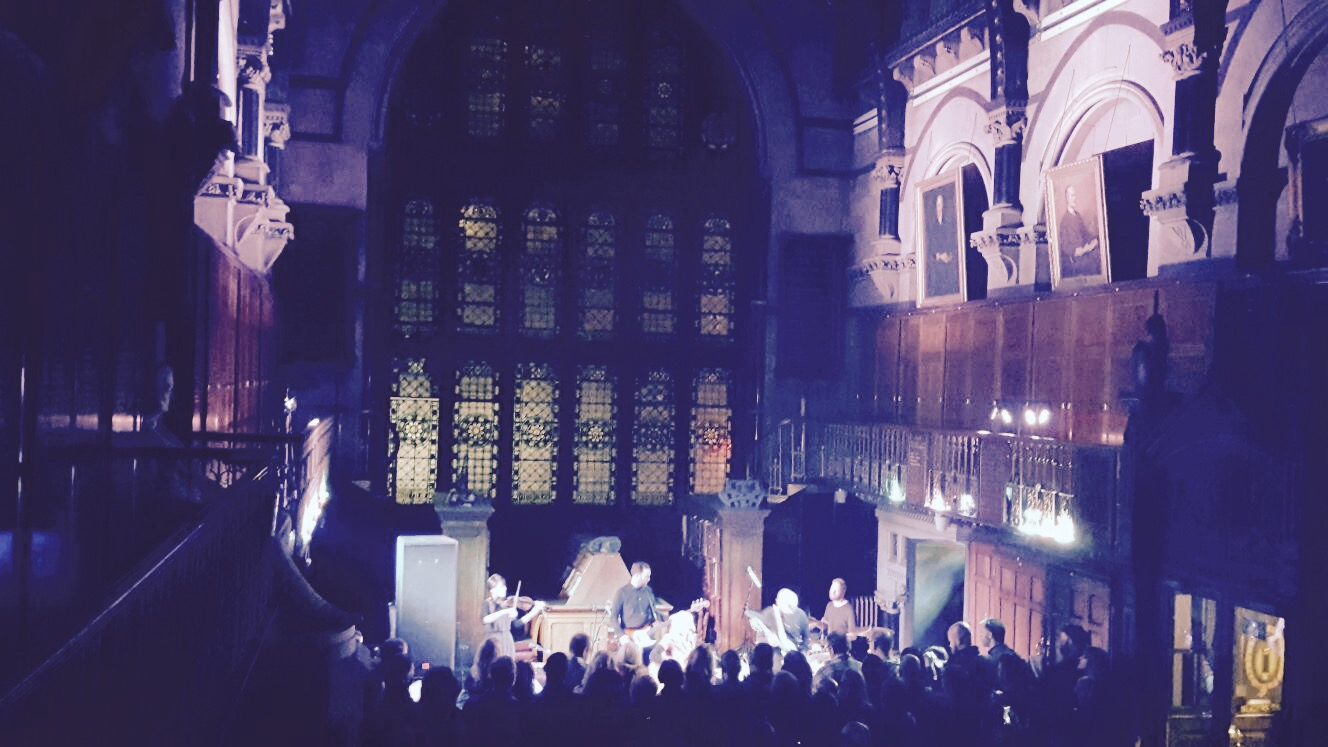 Intimate special show @ Newcastle's Mining Institute