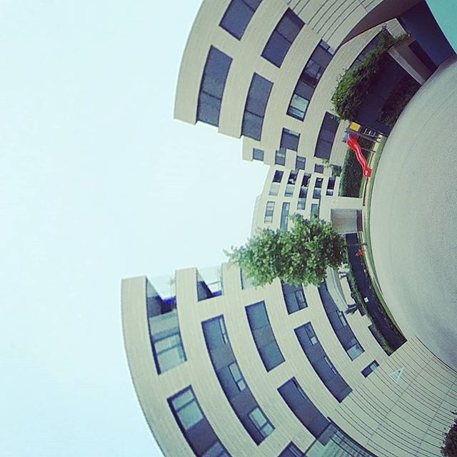 #tinyplanet #tinyworld #360 #360photo #360photography #360sphere #sphere #mi #misphere #planet #summer #austria #360camera #lifein360 #urban #explore #urbanexploration #urbanexplorer #travel #travelphotography #panorama #xiaomi #360instalife @xiaomi.global #xiaomiphotography #concrete #linz #tabakfabrik #tabakfabriklinz