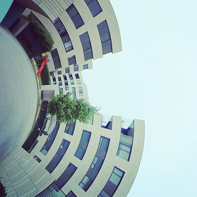 #tinyplanet #tinyworld #360 #360photo #360photography #360sphere #sphere #mi #misphere #planet #summer #austria #360camera #lifein360 #urban #explore #urbanexploration #urbanexplorer #travel #travelphotography #panorama #xiaomi #360instalife @xiaomi.global #xiaomiphotography #concrete #linz