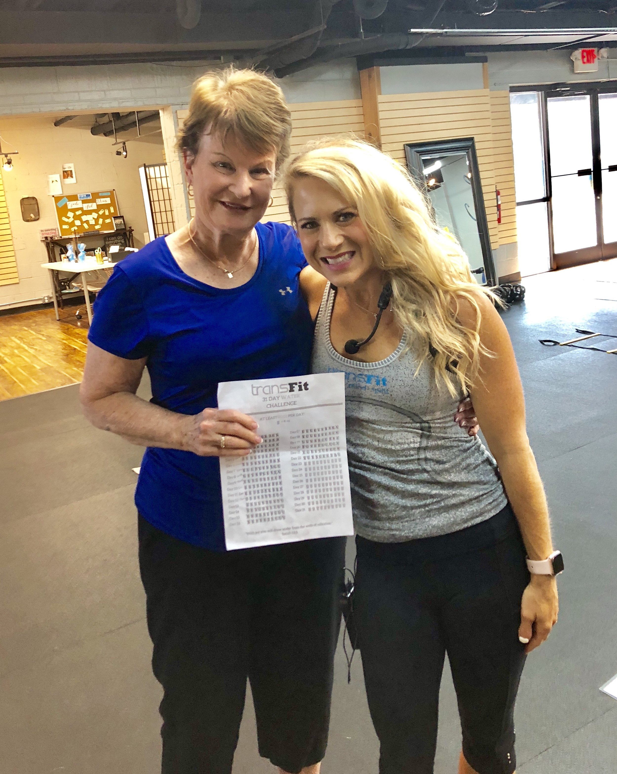 Our amazing client, Judy Talton!