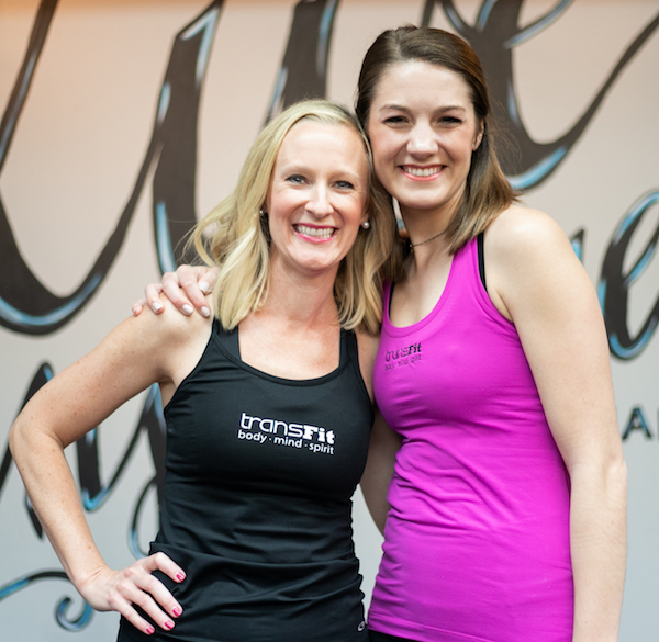 Our TransFit Registered Dietitians Katie Woodall and Kaeti Shurling!