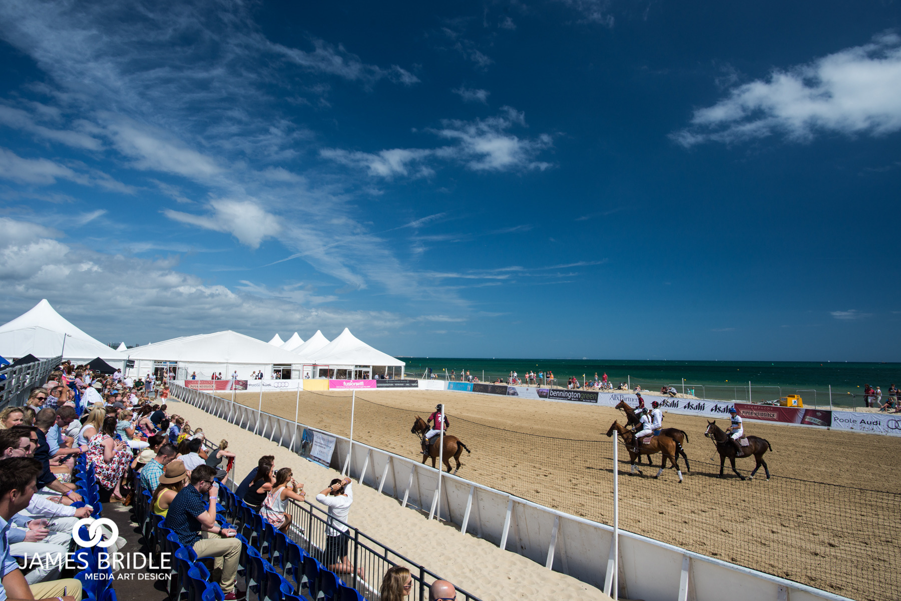 Sandbanks Beach, British Sand Polo Championship 2015