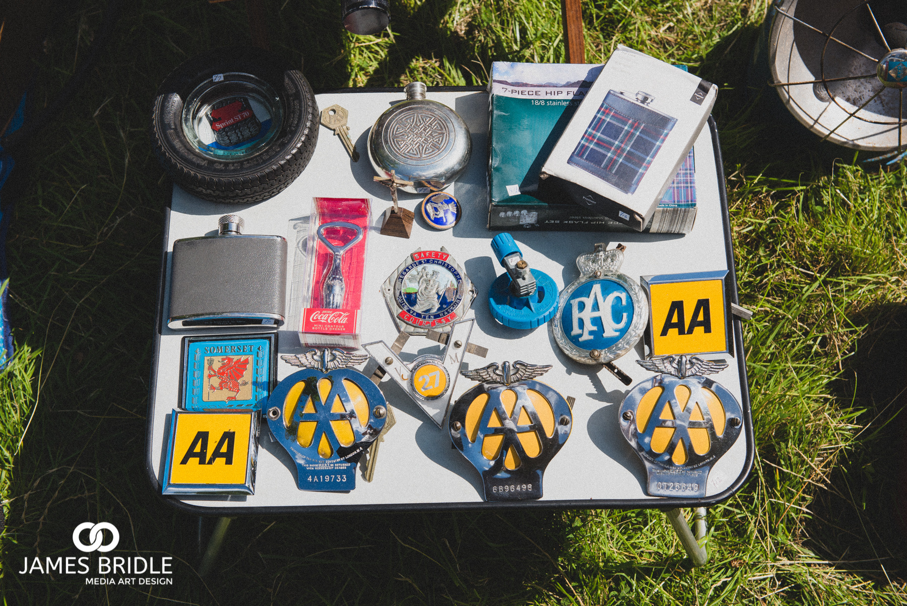 AA Badges of old