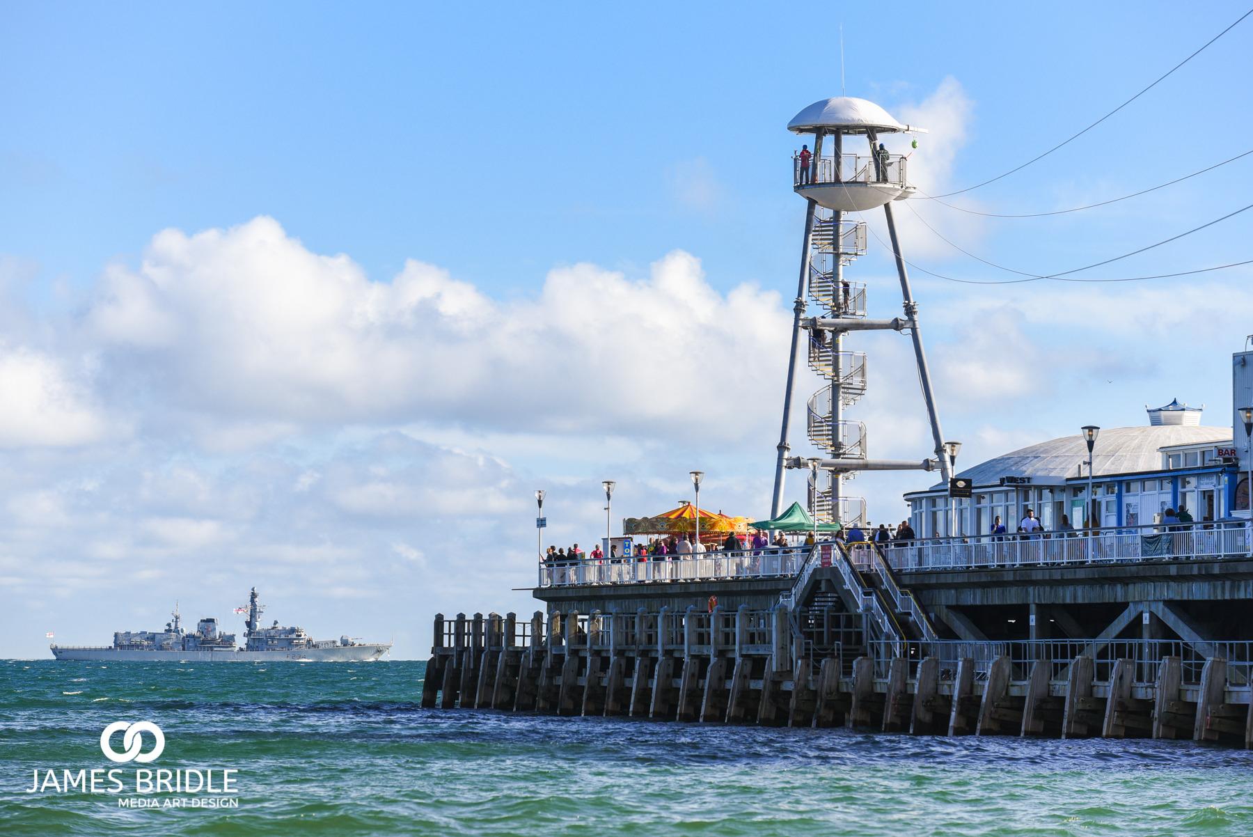 HMS Iron duke, Bournemouth airshow