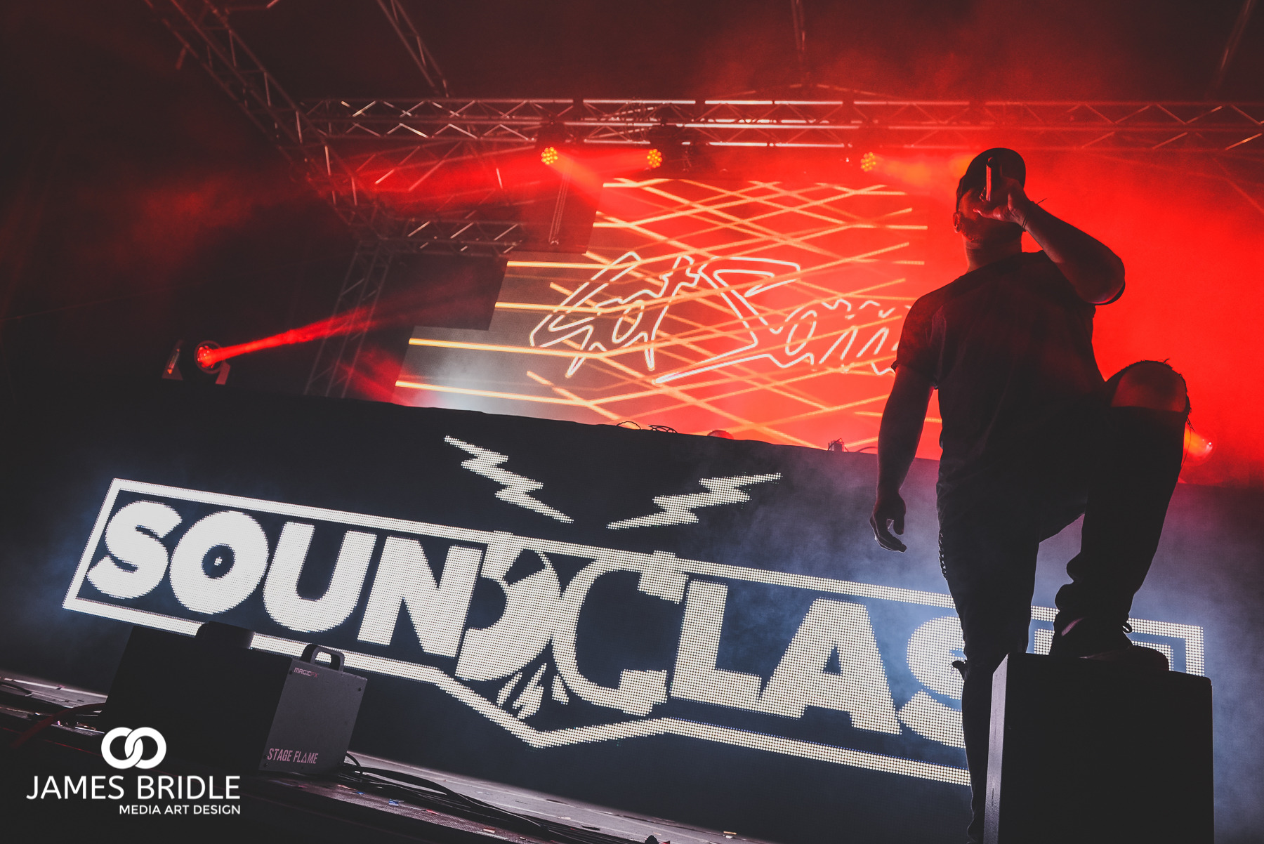 DJ PAT, MC for Gotsome at Soundclash Festival 2016