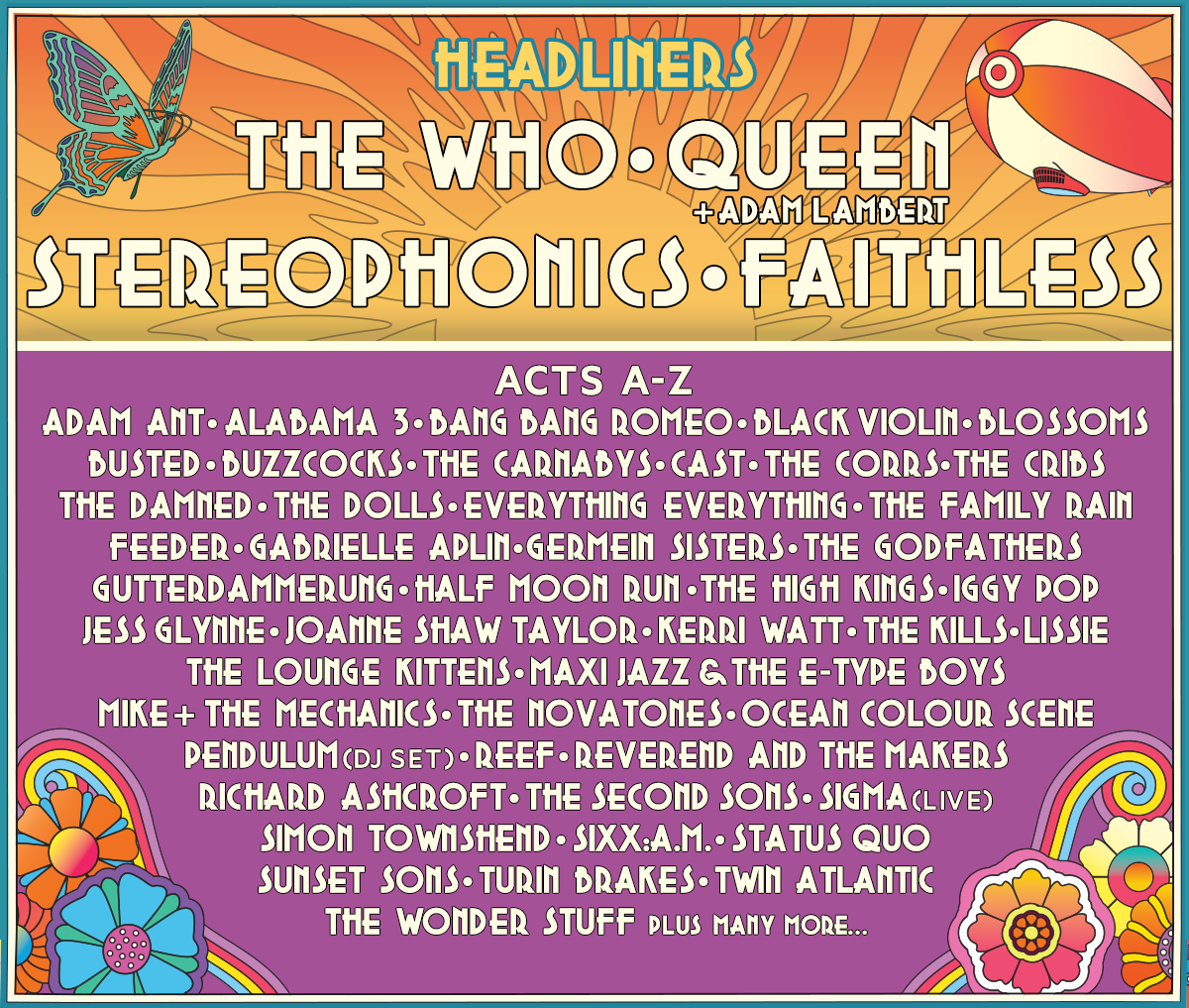 Isle of Wight Festival Lineup 2016