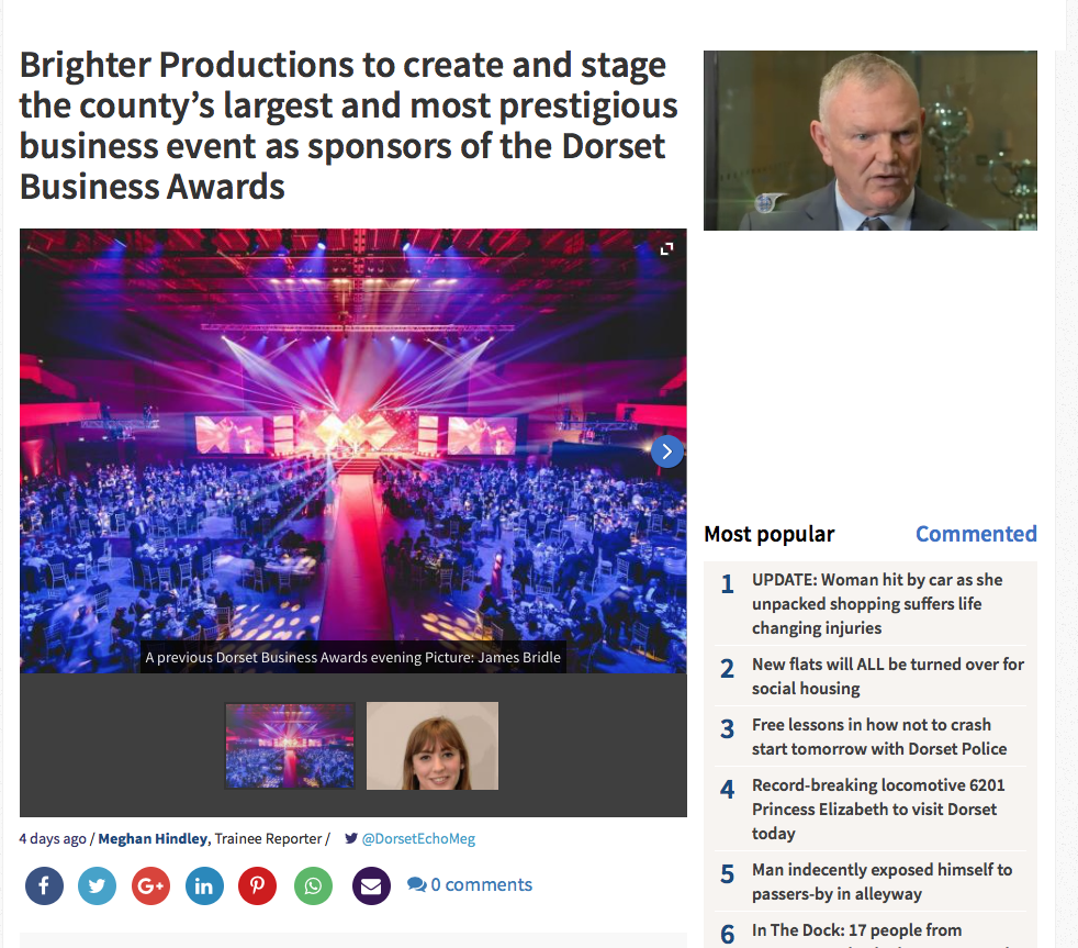 Dorset Business Awards (2015)