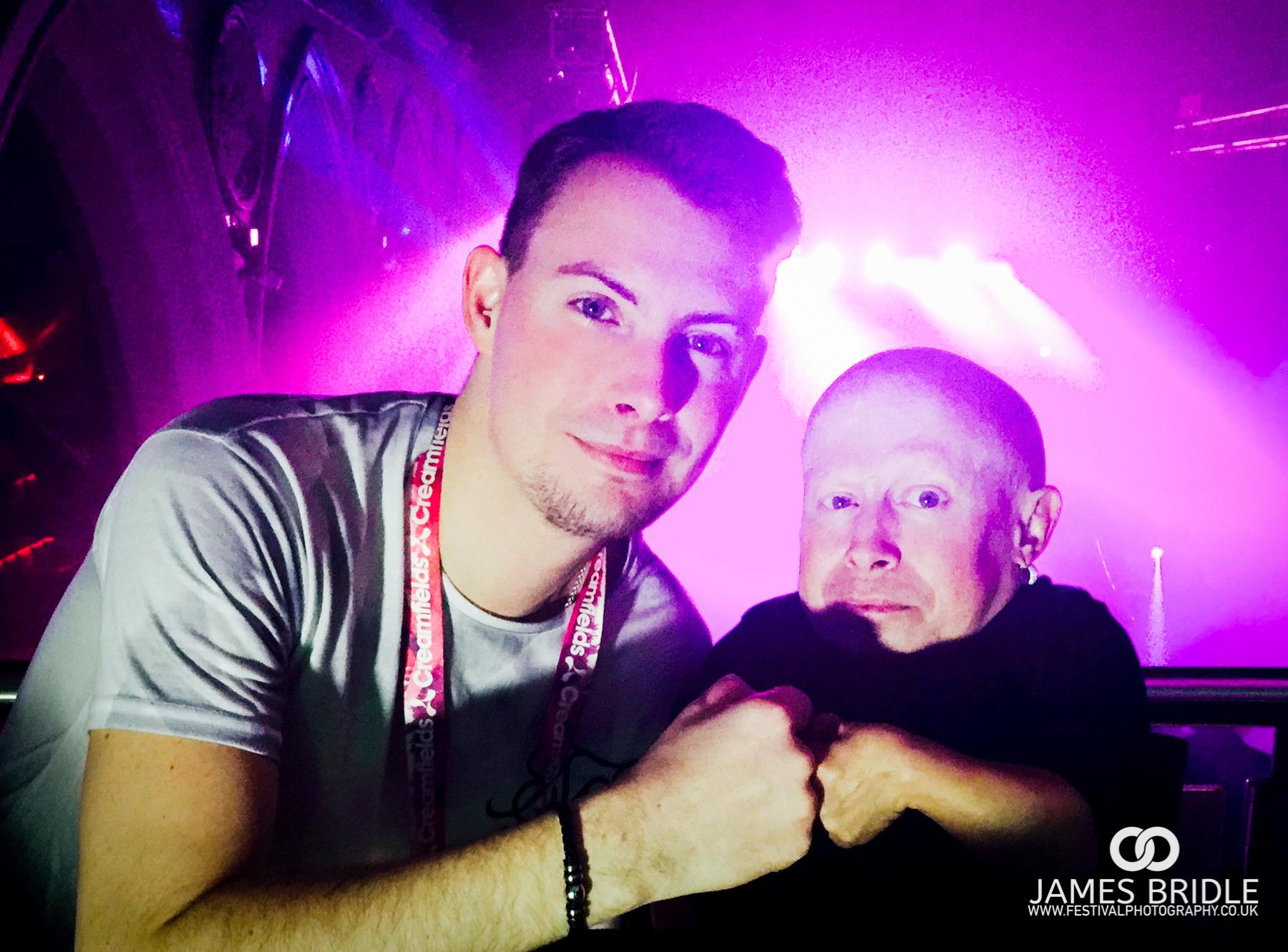 Myself - James Bridle with PA Verne Troya // AKA Mini Me