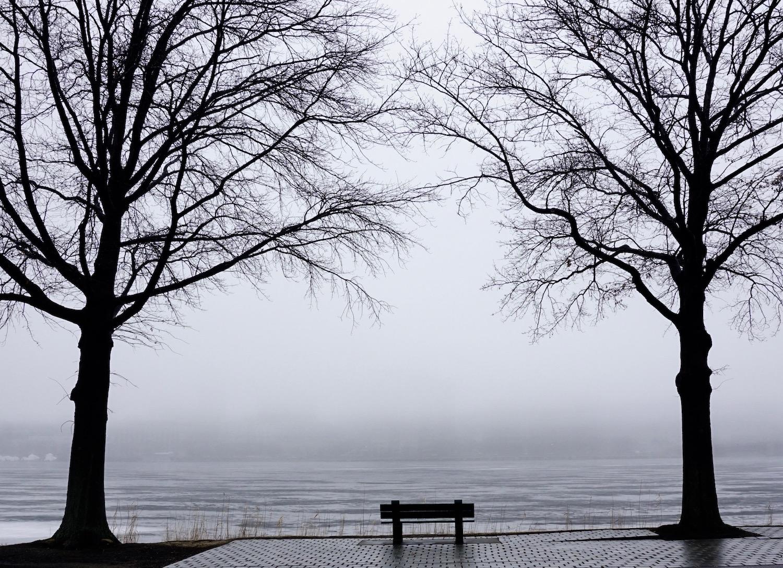 Charles River Fog Lifting