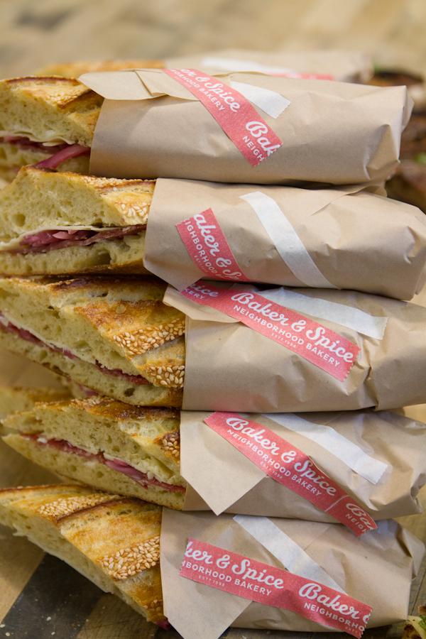 Salami & Cheese Sandwich