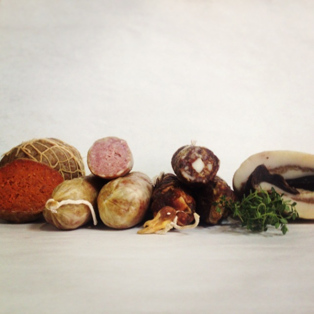 Rooster Street Provisions, based in Elizabethtown, Pa., specializes in cured and aged meats.