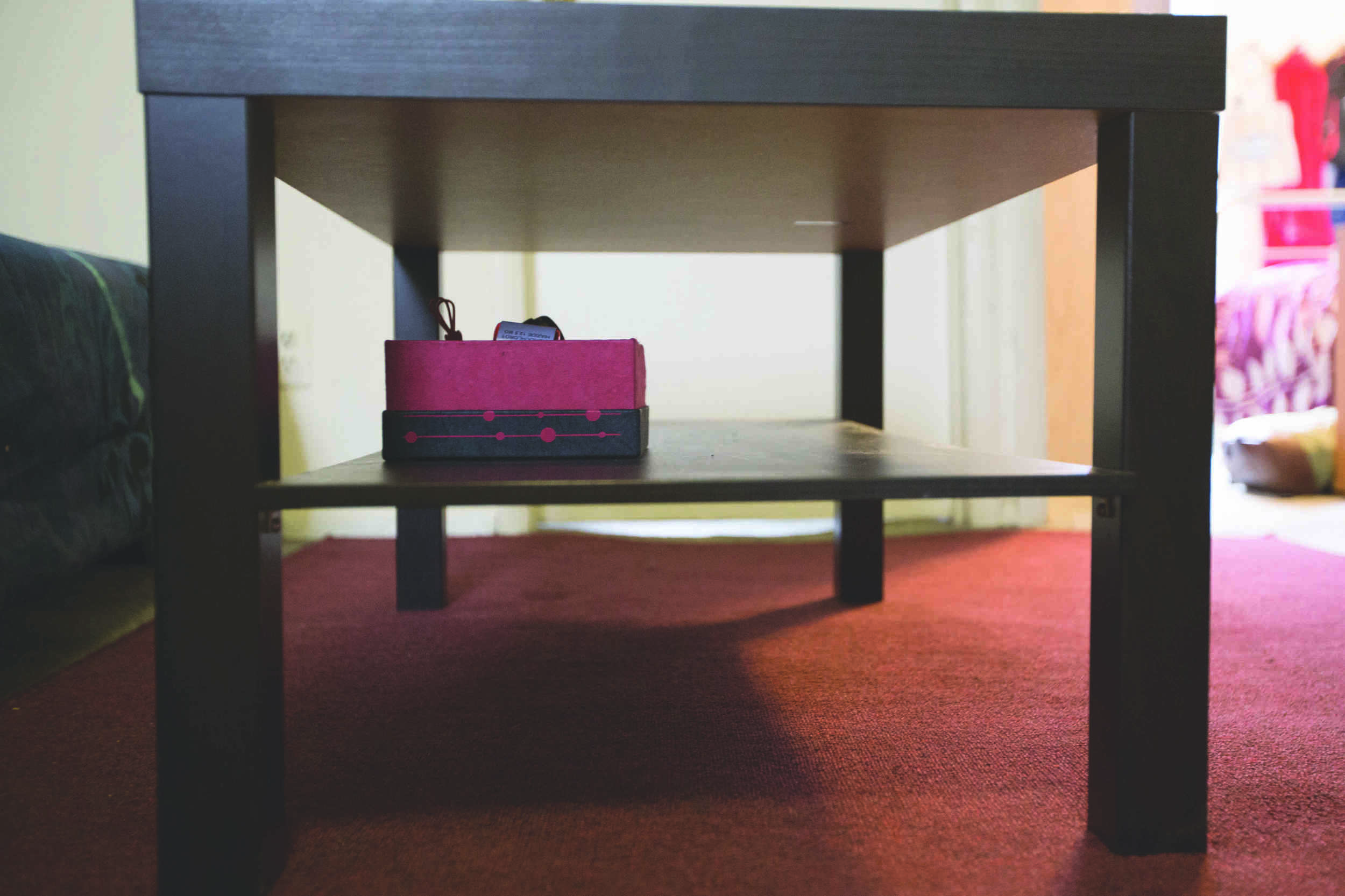Susan Corcoran's living room furnishings.