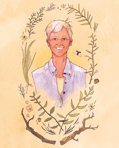 Illustration by Jameela Wahlgren