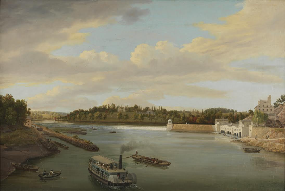 Thomas Birch, (1779-1851)  Fairmount Water Works ,  1821