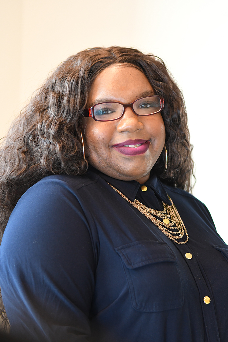Joniece Greer, community engagement specialist at the Mazzoni Center, dispels the notion that being trans is a choice, and fights for full equality. (Photo courtesy of Mazzoni Center)