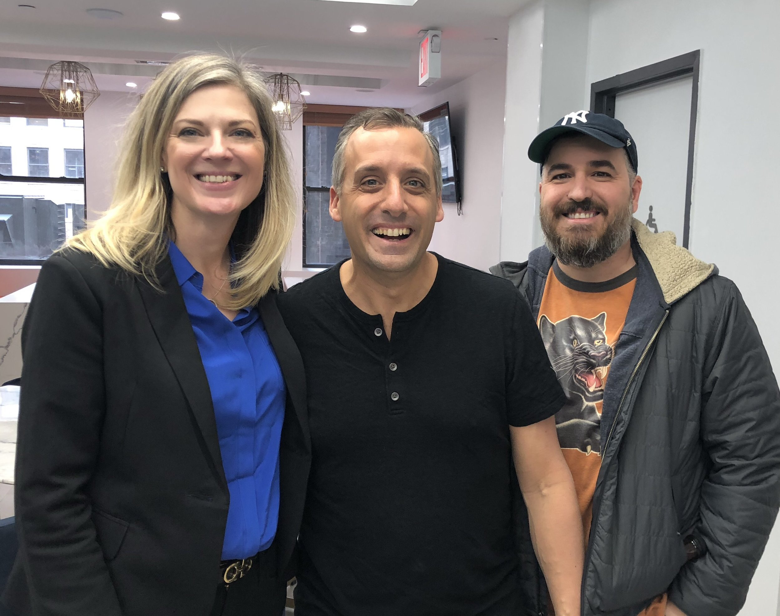 Me with Impractical Jokers Joe and Q.