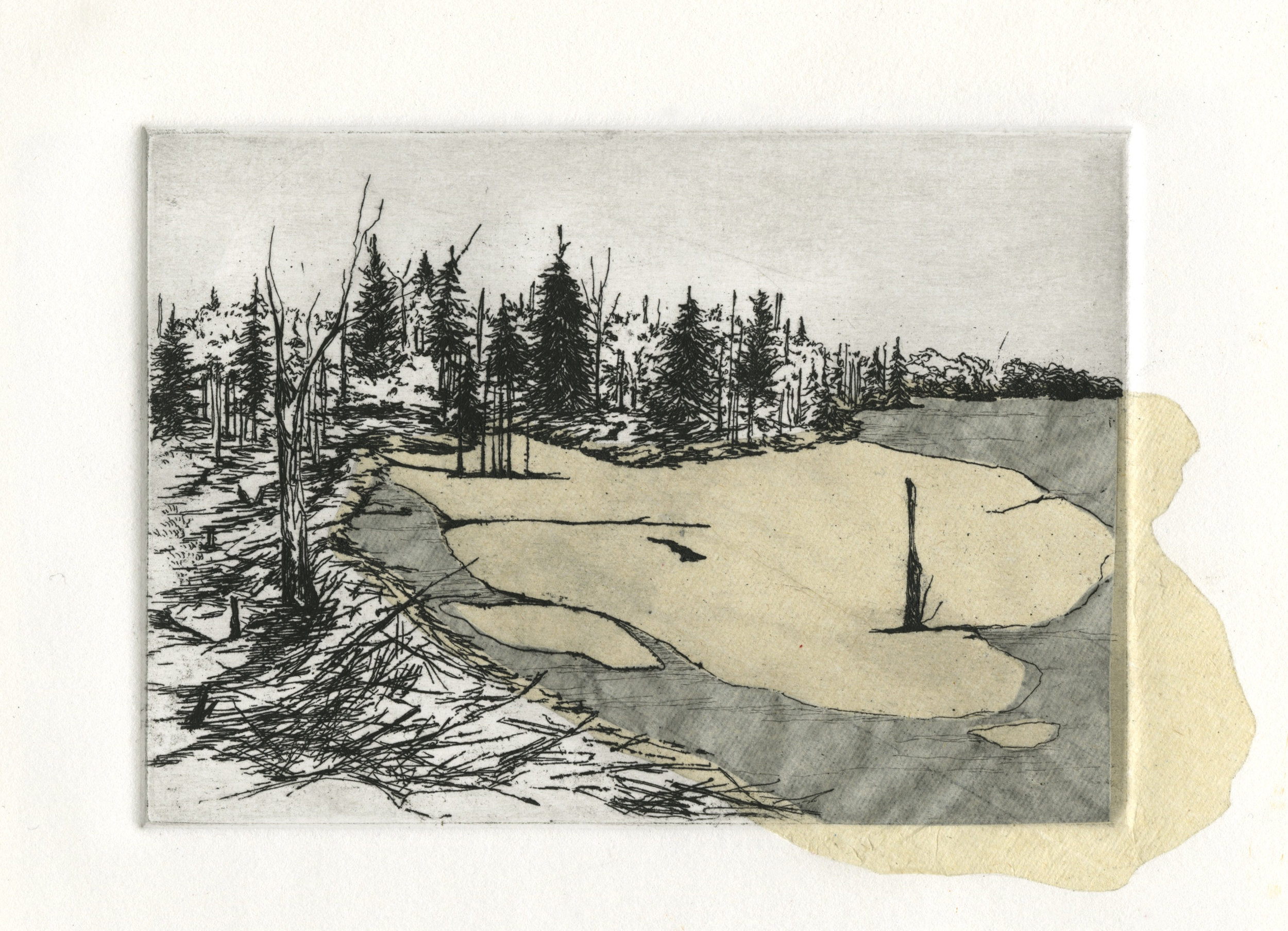 Kate Collyer _ Building Home _ Line Etching Chine Colle _ 2015.jpg