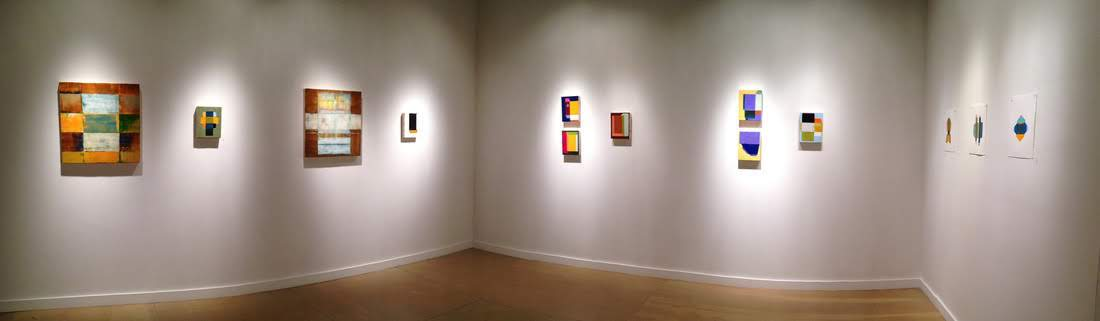 Exhibition view of Lynette's 2015 solo exhibition Frames of Reference.