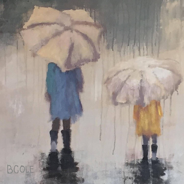 Crop of Rain Children - Commission © Beth Cole