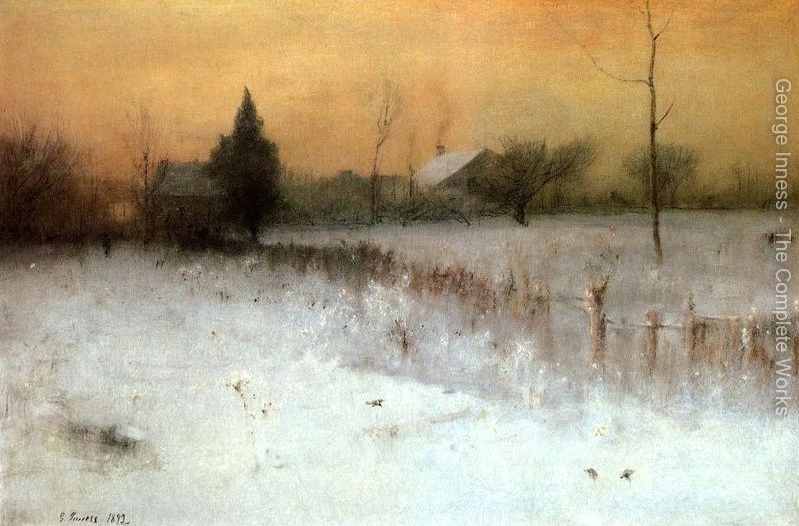 George Inness - Home At Montclair