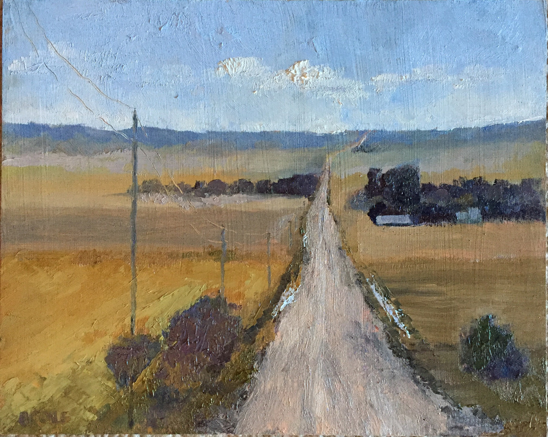 (Work in Progress) - Oil on Panel - 8 x 10 - © Beth Cole