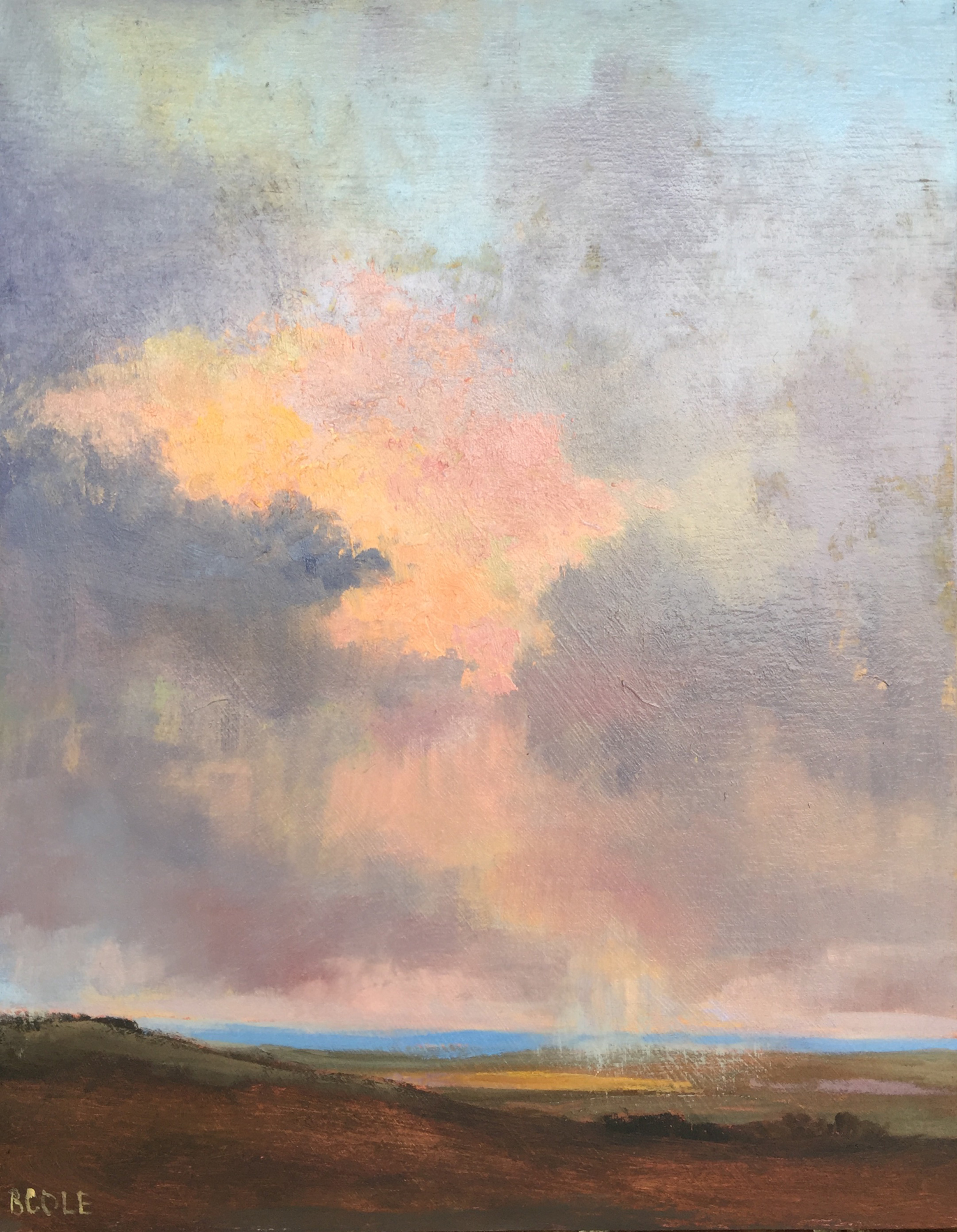 Light Show ©Beth Cole Oil on Wood Panel, 11 x 14
