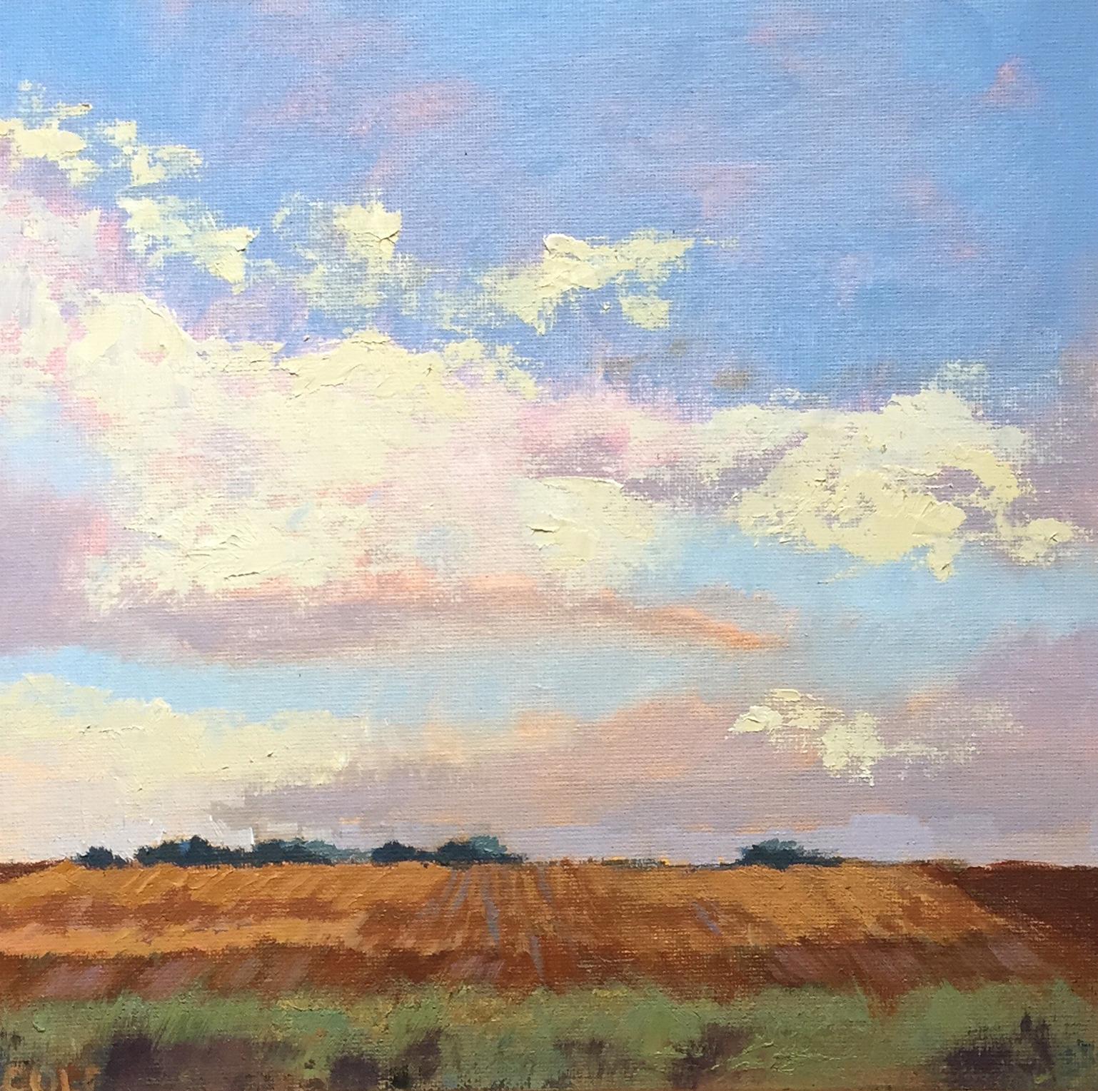 Prairie Sky © Beth Cole | 10 x 10 | Oil on Canvas Panel