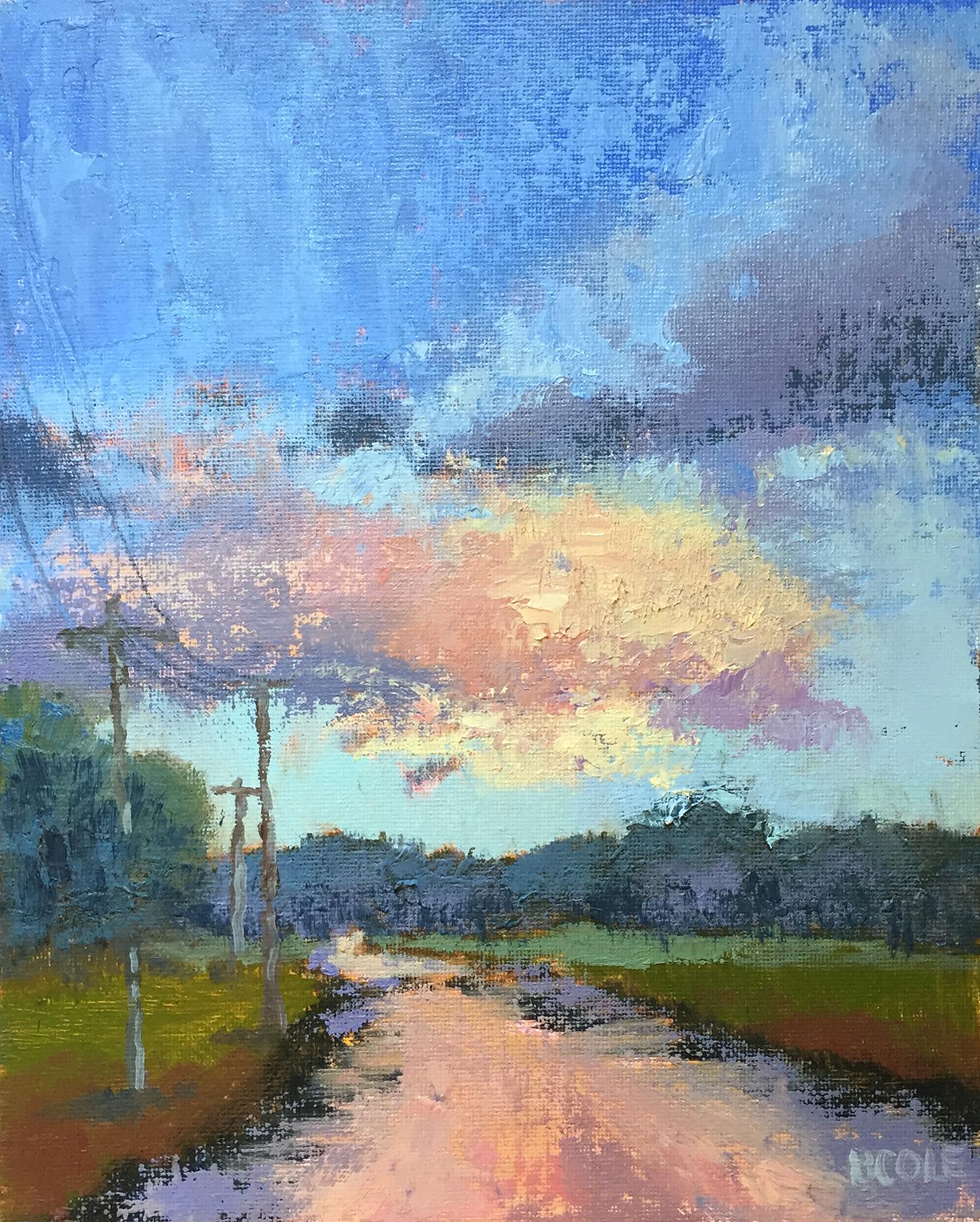 Rising © Beth Cole | Oil on Panel | 8 x 10
