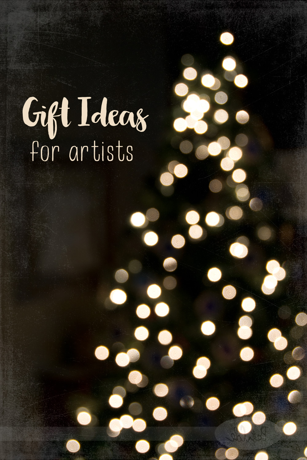 Gift Ideas for Artists, Photo ©Beth Cole
