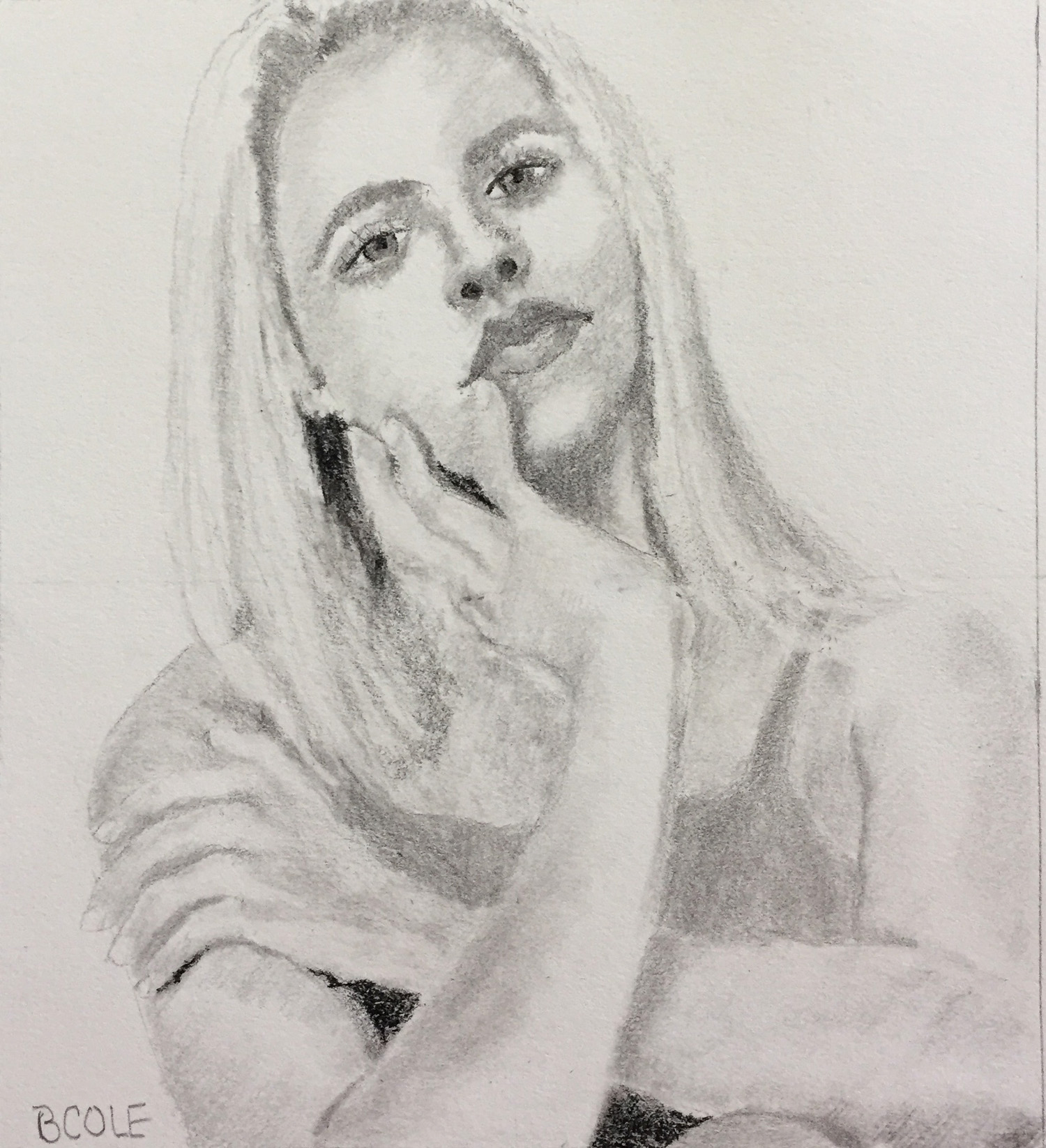 Charcoal Sketch | © Beth Cole
