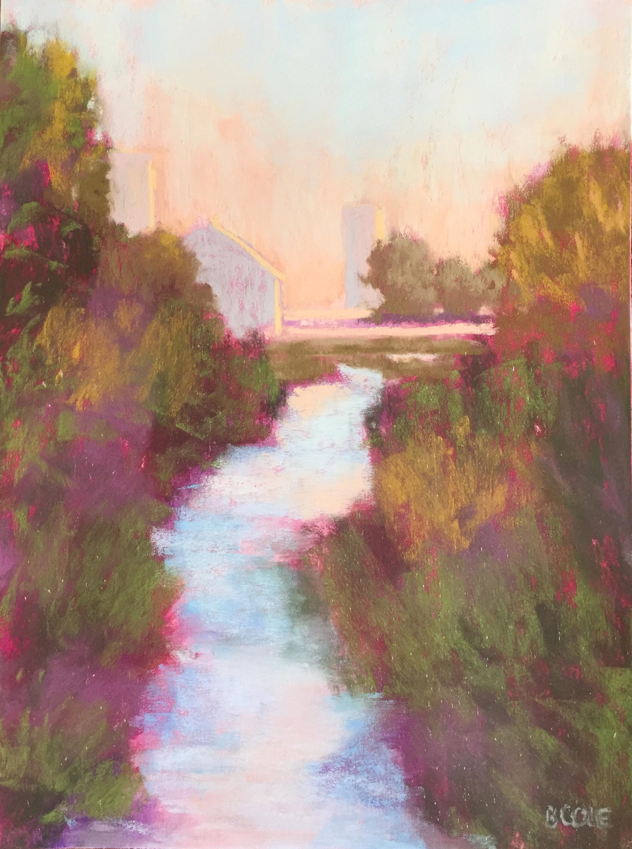 Shimmer | Pastel | 9 x 12 | © Beth Cole