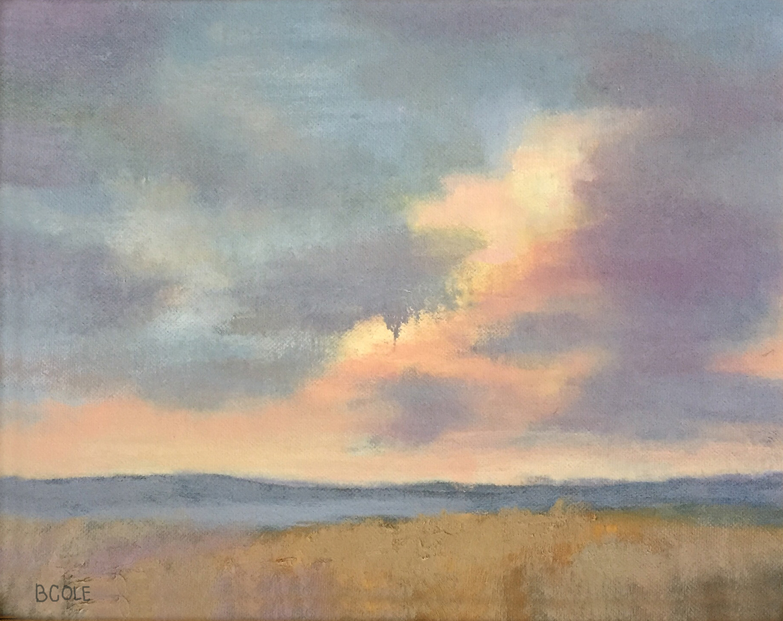 Sundown at Cramer's Canyon | © Beth Cole | 8 x 10 | Oil on Canvas