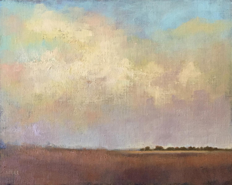 Last Light II - Oil on Canvas Panel - 16 x 20 - ©Beth Cole