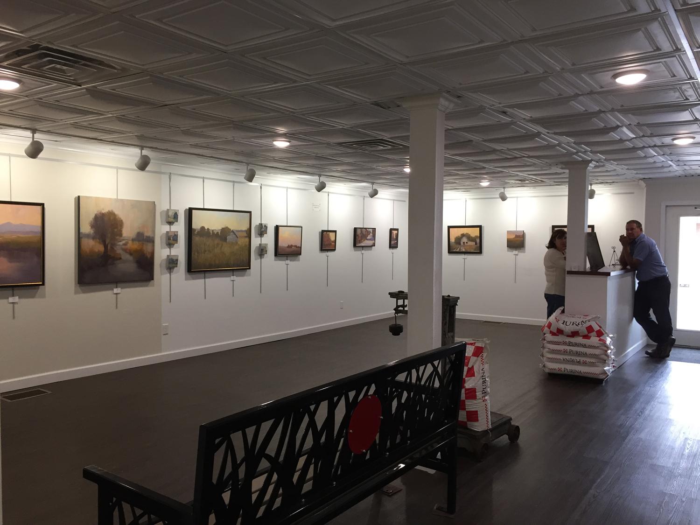 Old Feed Store Art Center, Bassett, Nebraska   Beth Cole Art Exhibition October 2018