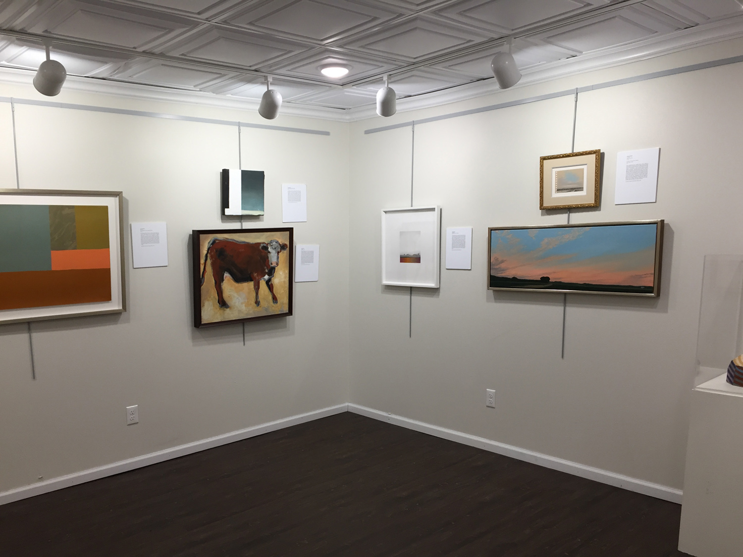 Beautiful Gale Family Private Collection on Display   Old Feed Store Art Center