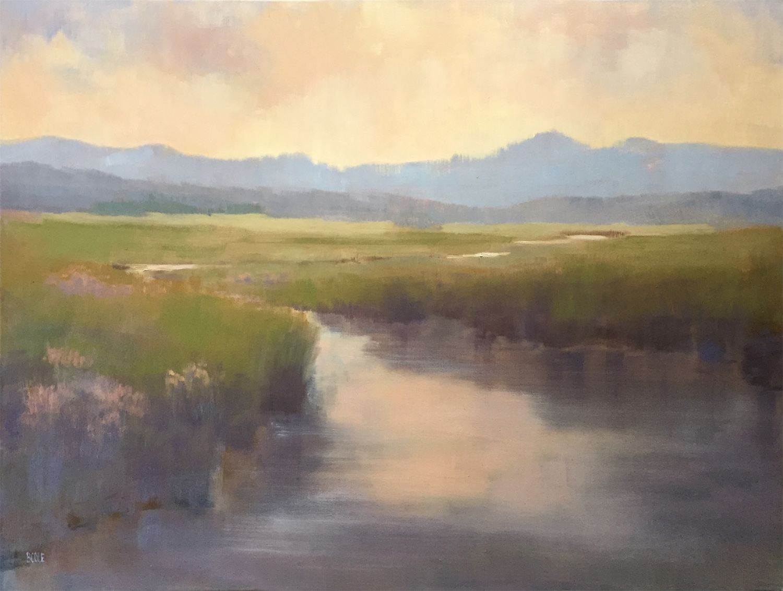 """Prairie Glass"" | Oil on Canvas | 30 x 40 | © Beth Cole"